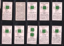 Tobacco cigarette cards Contract Bridge 1935 card game